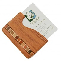 Pocket Business Card Holder - Timber Arts - Rimu / Fish Hook
