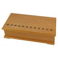 Accessory Box - Kauri - Green Lining